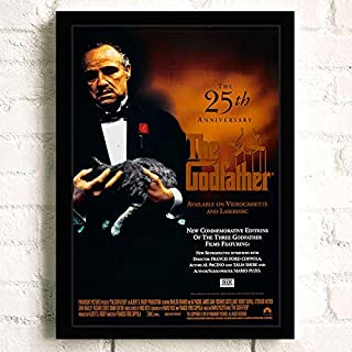 Movie The Godfather Marlon Brando Poster Prints Wall Art Decor Unframed,16.5