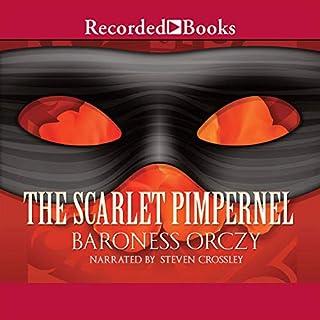 The Scarlet Pimpernel audiobook cover art