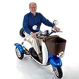 EW-11 Sport Scooter Euro Style Design Blue