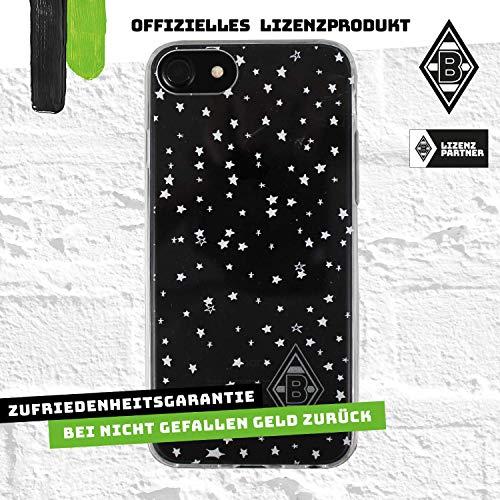 Borussia Mönchengladbach Schutzhülle - Zuckerpass - Smartphone Case passend für das Neue Apple iPhone SE und iPhone 8/7