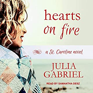 Hearts on Fire     A St. Caroline Novel, Book 2              Written by:                                                                                                                                 Julia Gabriel                               Narrated by:                                                                                                                                 Samantha Desz                      Length: 8 hrs and 12 mins     Not rated yet     Overall 0.0