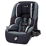 Rear-facing 5-40 pounds Forward-facing 22-65 pounds 5-point harness with center front adjust Multi-position adjustable head rest for growing children Anti-rebound bolsters. Seat pad is hand washable