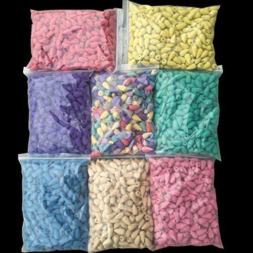 Weihrauchkegel Massenverkauf Sandelholz Rose Lavendelkegel Weihrauch 100g / 300g / 500g / 1000g Indischer Weihrauch (Color : 1000g about 560 pcs, Scent : Jasmine)