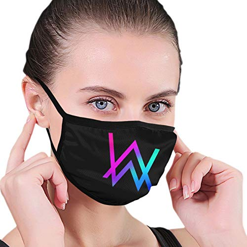 Alan Walker Face Màsc Bandana cubierta para orejas bucles para mujer tela interior Cosplay ejercicio matutino