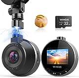 Dash Cam WiFi, WIMIUS 1080p Dash Camera for Cars, Magnetic Car Camera...