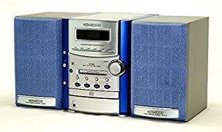 KENWOOD ケンウッド SH-3MD-L (ブルー) Avino マイクロハイファイコンポーネントシステム (CD/MD/カセットコンポ)(本体RXD-SH3MDとスピーカーLS-SH3-Lのセット) MDLP非対応