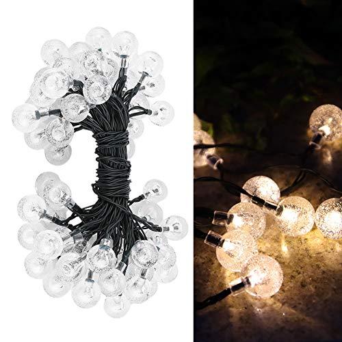 Gaeirt Decorazione del Giardino, capacità di Lunga Durata della Luce della Stringa Solare montata Direttamente e utilizzata per edifici Commerciali per Feste o Matrimoni