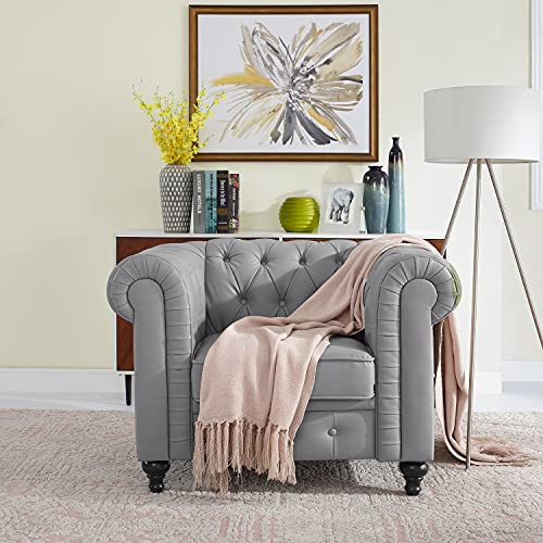 Best tufted chesterfield chair