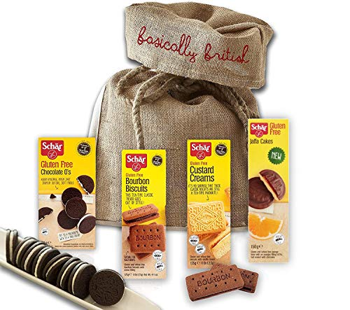 Schar Gluten Free Snacks | Gifts Birthday Anniversary Thank You | British Food Shipped From London UK (Sweet)