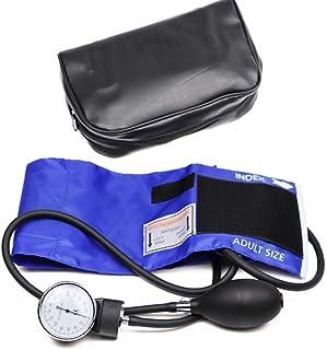 Professional Adult Manual Blood Pressure Monitor BP Cuff Upper Arm Aneroid Sphygmomanometer Tonometer with Pressure Gauge ...