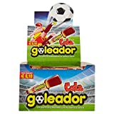 Goleador Cola, la Doppia Caramella Gommosa, Box da 200 Pezzi, Gusto Cola, 2 Caramelle per Incarto, Ideale per Feste per Bambini