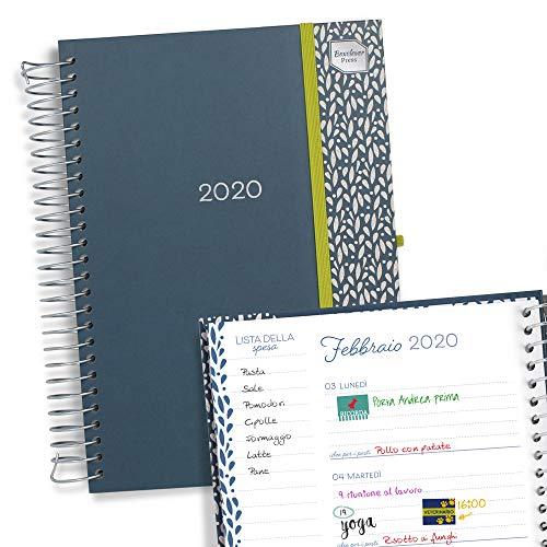 Boxclever Press Vita Dì per Dì Agenda 2020. Diario settimanale per organizzare giorni occupati. Perfetto agenda settimanale 2020, inizia Ora e dura fino Dicembre 2020.