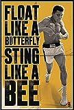 Xzmafthfrw Muhammad Ali - Personality Poster (Float Like A