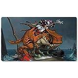 Warcraft134 – Juego de mesa de Warcraft tapete de mesa Wow juegos teclado Pad Tamaño 60 x 35 cm World of Warcraft Mousepad para Yugioh Pokemon MTG o TCG