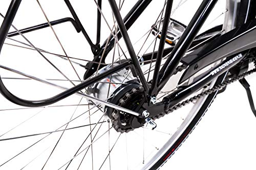 28 Zoll Alu Damen City Bike Easy Boarding Tiefeinstieg 7Gang Shimano Nabendynamo - 3