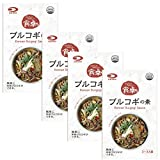 DAIDO プルコギの素 おいしいたのしい食卓シリーズ80g×4袋 お得セット