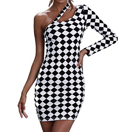 N\P Un vestido de tablero de ajedrez