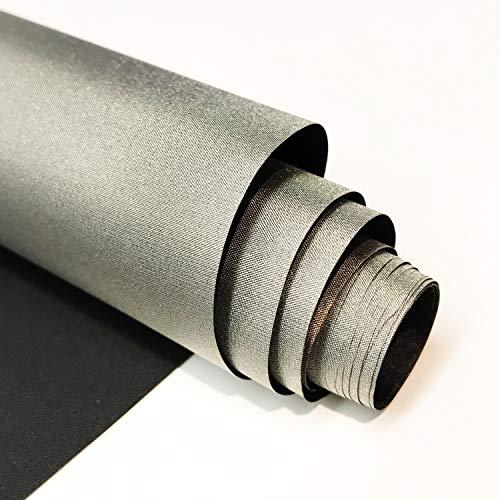 Faraday Defense RF RFID EMF blindaje negro níquel cobre tela 50 pulgadas x 1' material de bloqueo de señal