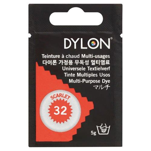 DYLON マルチ 衣類 繊維用染料 5g col.32 スカーレット 日本正規品