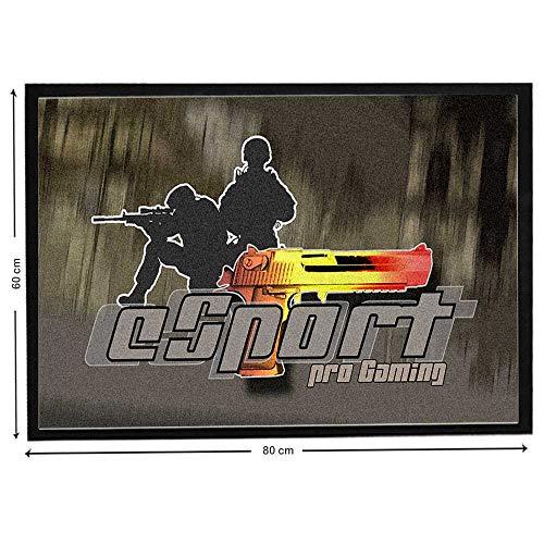 Pets-easy Desert Eagle CS:GO sobre alfombra de suelo de juego de acción