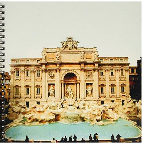 3dRose db_1137_1 Trevi Brunnen Italien Zeichenbuch, 20,3 x 20,3 cm