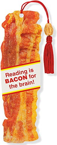 Bacon bookmark adult stocking stuffer funny gift idea