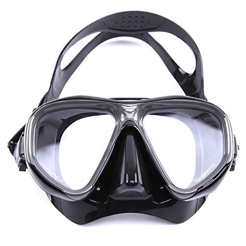 Copo de Mergulho, Romacci Máscara de mergulho Óculos de natação Equipamento de vidro para mergulho com snorkel Vidro temperado temperado