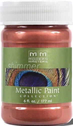 Modern Masters ME435-06 Metallic Cranberry Mist, 6-Ounce