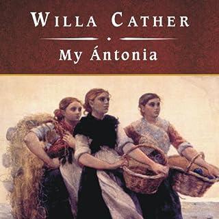 My Antonia audiobook cover art