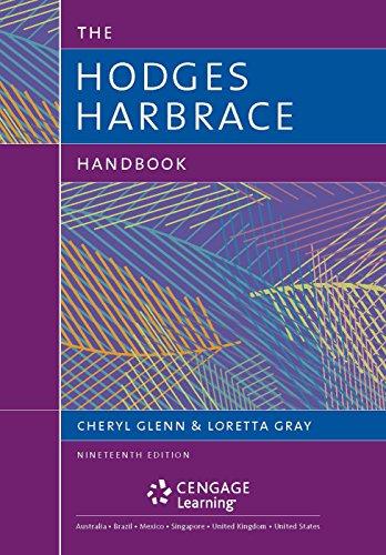 The Hodge's Harbrace Handbook with MLA 2016 Update Card (The Harbrace Handbook Series)