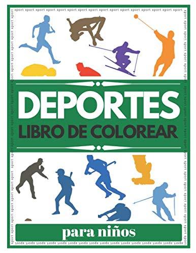 Deportes Para Niños Libro De Colorear: Deportes para niños de 2 años