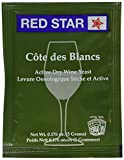 Red Star Cote des Blancs Wine Yeast, 5 Gram - 10-Pack