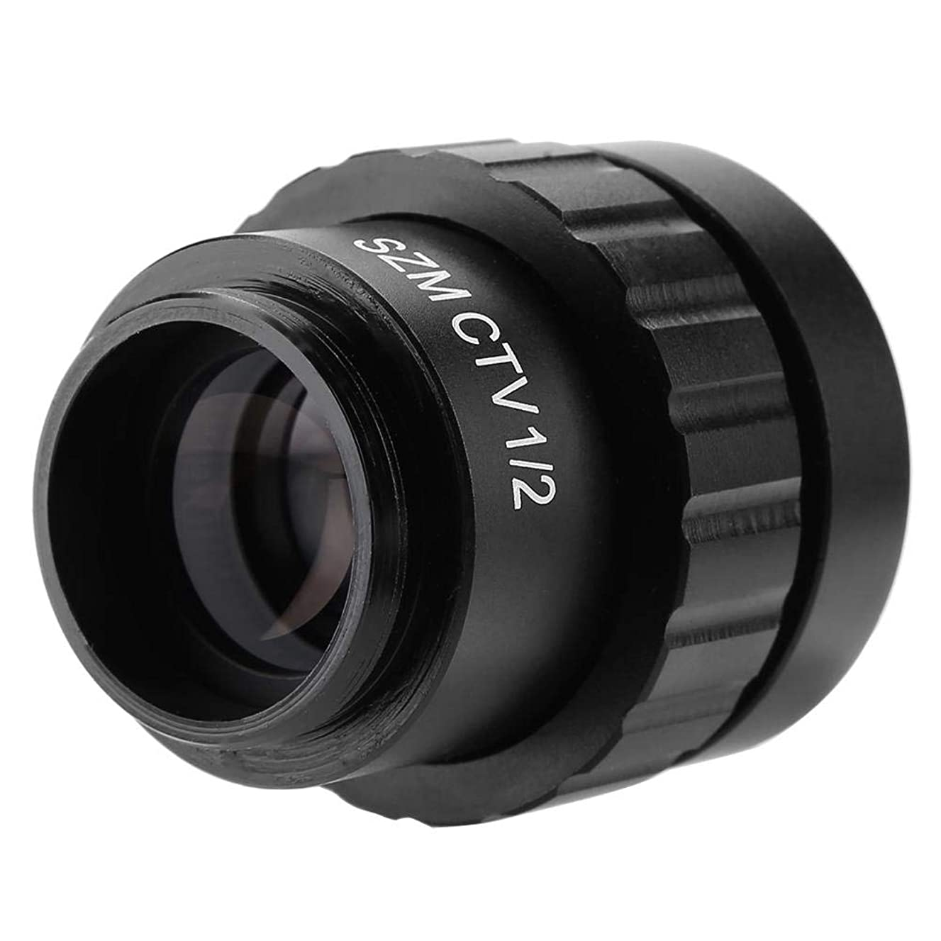 Asixx Objective Lens, Monocular Telescope Viewing Objective Lens or 0.5X C-Mount Objective Lens 1/2 CTV Adapter for SZM Video Digital Camera Trinocular Stereo MICR