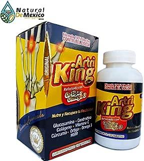 Nuevo ArtriKing Ortiga Omega 3 Suplemento Alimenticio