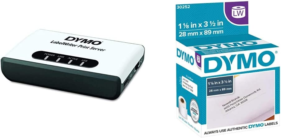 DYMO LabelWriter Super beauty product restock quality top! Print Server Fixed price for sale Authentic Address Lab Mailing LW