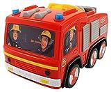 Dickie Toys 203092000–Pompier Sam Jupiter, Camion de Pompier à avec Le Cas Non-Fonction Chronomètre, 14cm