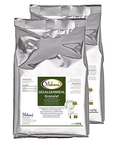 Makana Seealgenmehl PUR 2 x 1,5 kg, für die Verdauung
