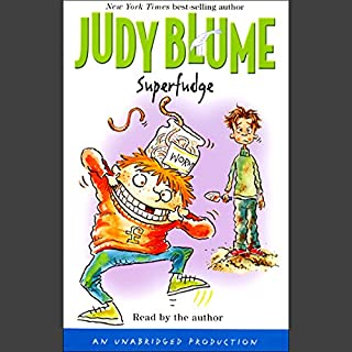 Superfudge                   By:                                                                                                                                 Judy Blume                               Narrated by:                                                                                                                                 Judy Blume                      Length: 3 hrs and 8 mins     468 ratings     Overall 4.5