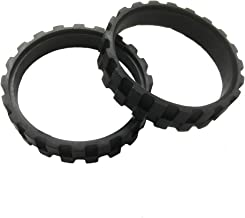 OYSTERBOY 2 Pcs Replacement Tires Rubber for ALL IROBOT ROOMBA Wheels Series including 500, 600, 700, 800, 900, E5, E6, i7...