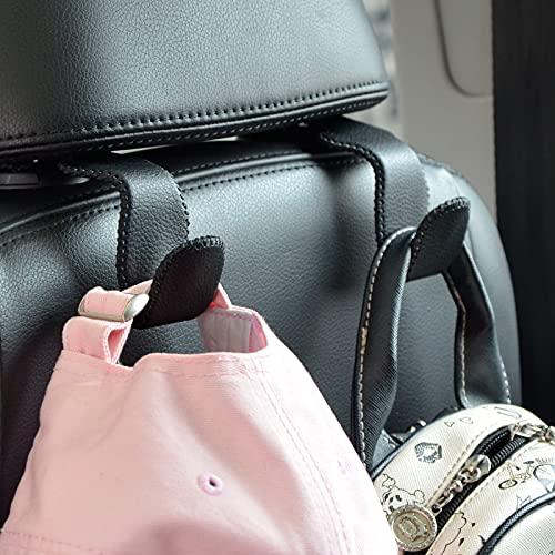 Car Hooks Universal Car Vehicle Back Seat Headrest Hanger Holder Hook Microfiber...