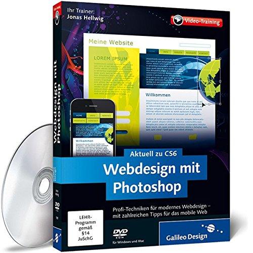 Preisvergleich Produktbild Webdesign mit Photoshop - Das Praxis-Training