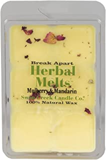 Mulberry & Mandarin 4.75 oz. Swan Creek Candle Drizzle Melts