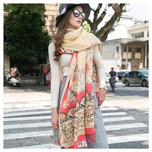 Ztweijin Sjaal Luxe Merk Grote Mode Sjaals en Sjaals Warm Sjaal Vrouwen Moslim Hijab