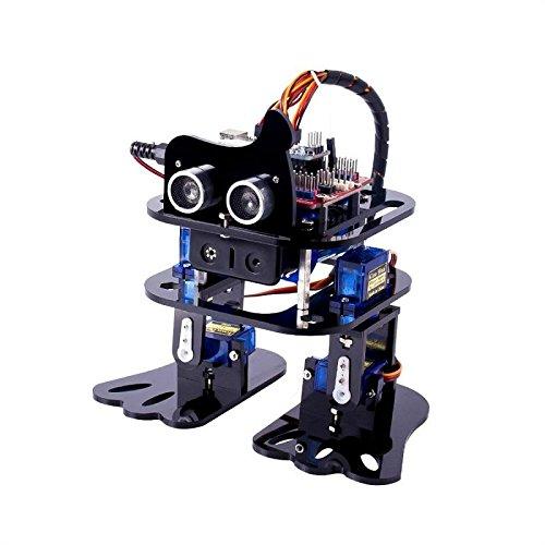 FunPromotionsToy SunFounder DIY 4DOF Robot Kit Program Learning Kit for Arduino Nano