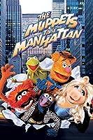 DSJHK 大人の十代の若者たちのための1000ピースのジグソーパズルギフトパズルゲーム-マペットはマンハッタンの映画のポスターを取ります75X50Cm