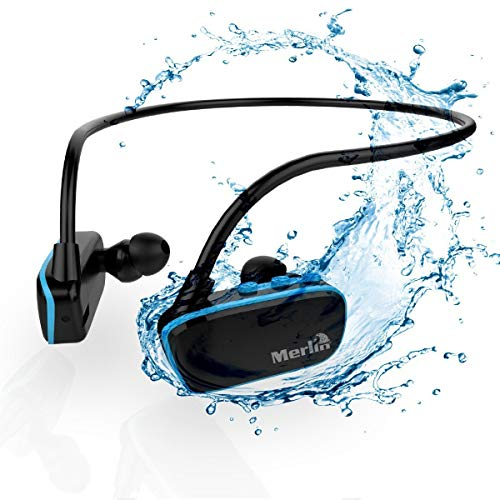 XtremeMac Merlin Can be Installed Even Bluetooth Waterproof Headphone Swim Mp3 Pro, clear