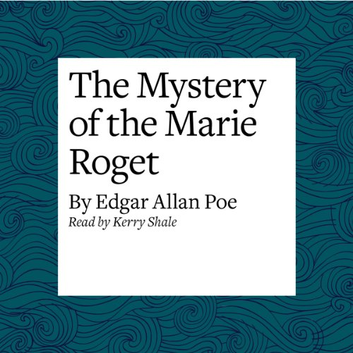 The Mystery of the Marie Roget audiobook cover art