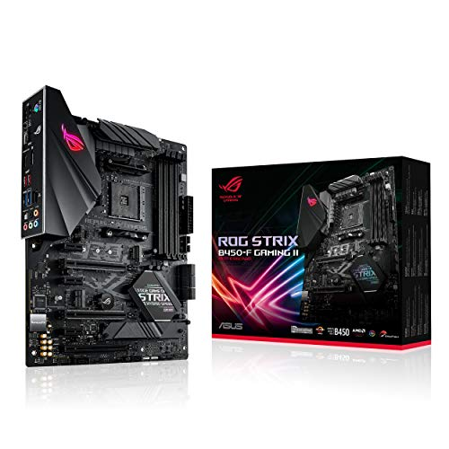 ASUS ROG Strix B450-F Gaming II AMD AM4 (Ryzen 5000, 3rd Gen Ryzen ATX Gaming Motherboard (8+4 Power Stages, HDMI 2.0b/DP,2 x PCIe...