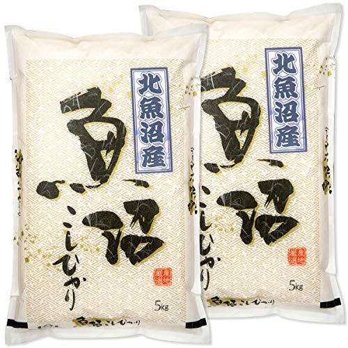 新潟県産 北魚沼産コシヒカリ 白米 10kg (5kg×2 袋) 令和2年産