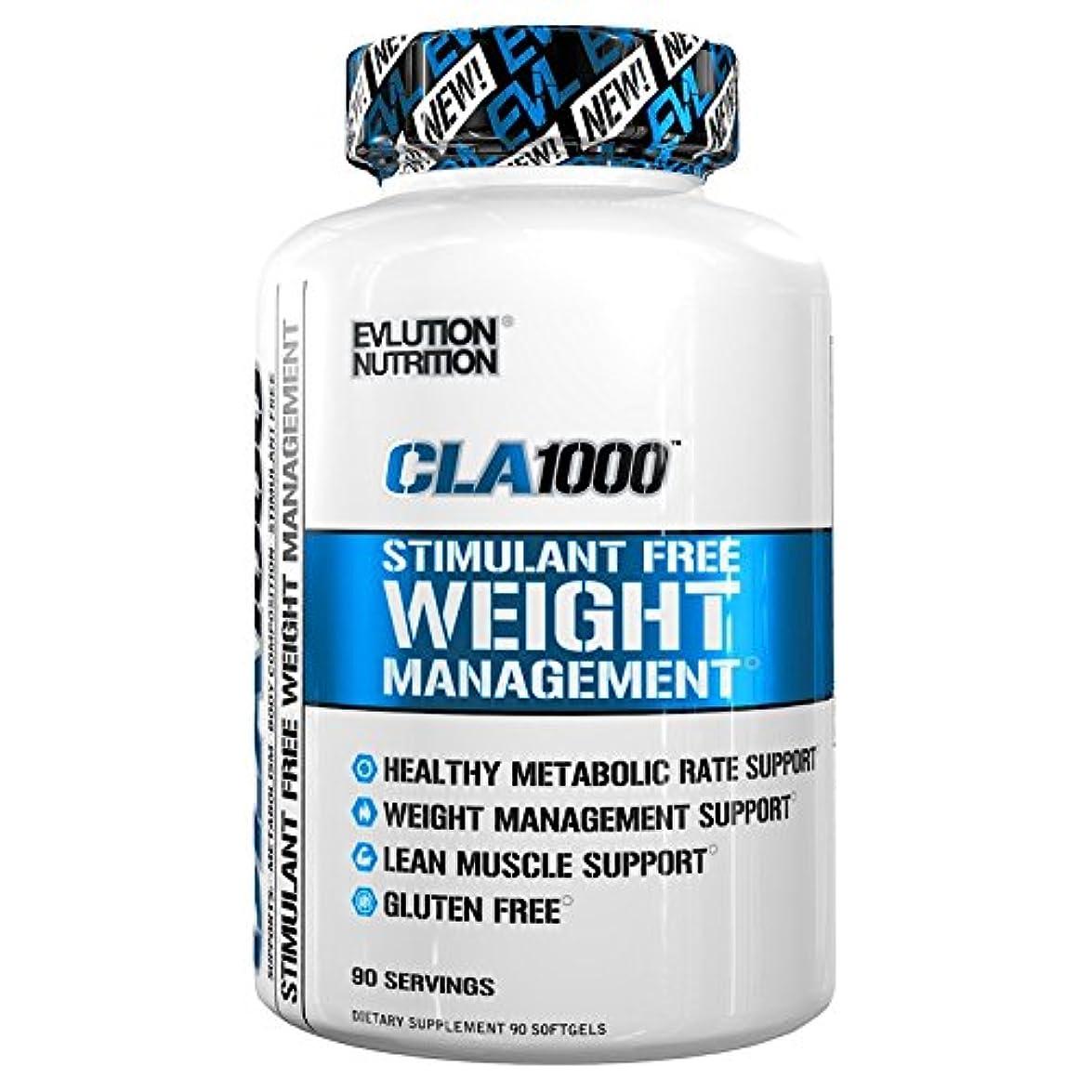 不和つなぐ責めるEVLution Nutrition CLA1000(体重管理サポートサプリ?非刺激性)90カプセル [海外直送品]